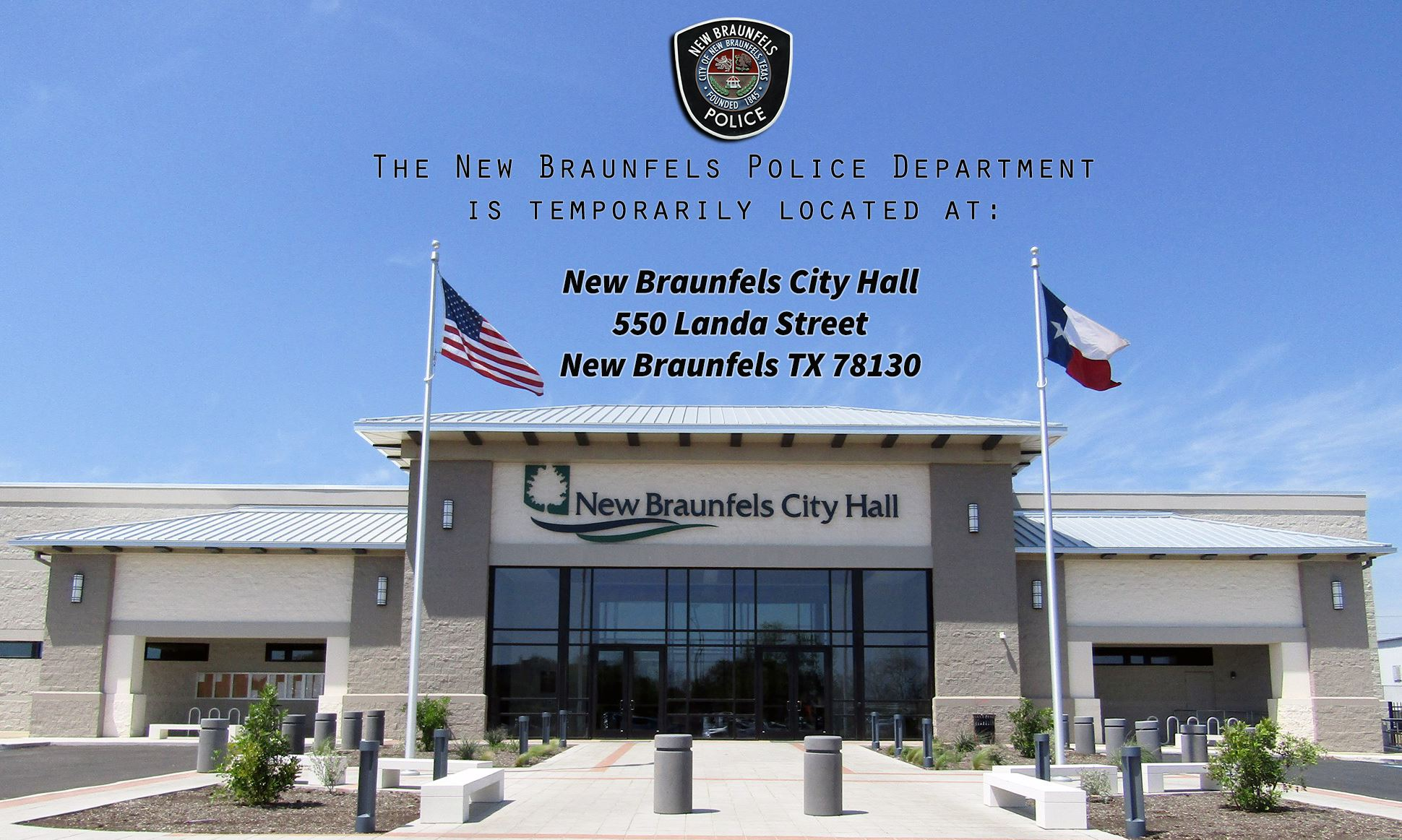 New Braunfels City Hall / NBPD 2
