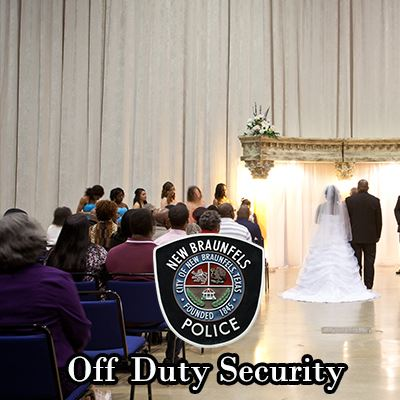 Off Duty Security (Weddings, Special Events, Etc.)