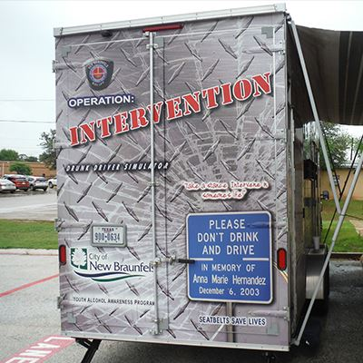 Operation Intervention: Drunk Driver Simulator