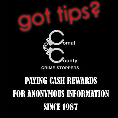 Comal County Crime Stoppers (Make an Anonymous Tip