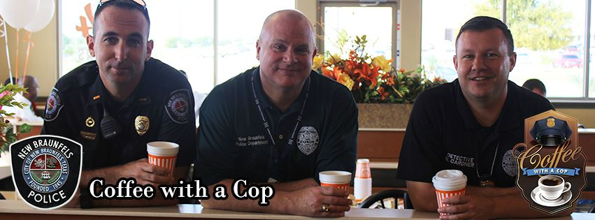 Coffee with a Cop banner 1