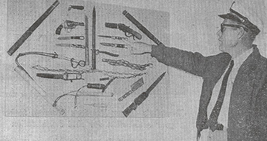 Davidson Shows Weapons - 1960 - small