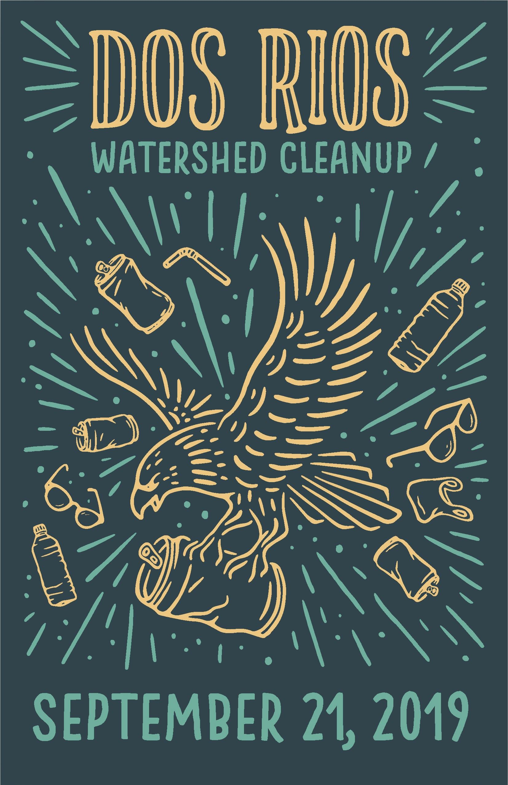 2019 Dos Rios Watershed Clean-up - Sept. 21st