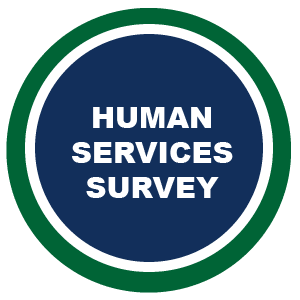Human Services Survey Button