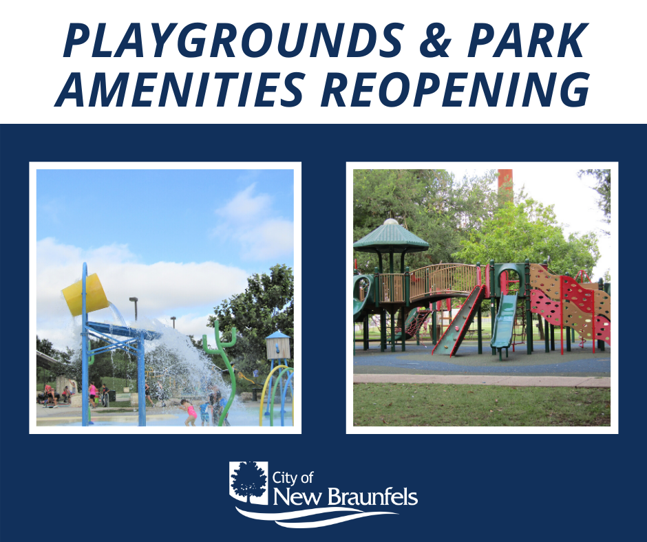 Playgrounds Reopening