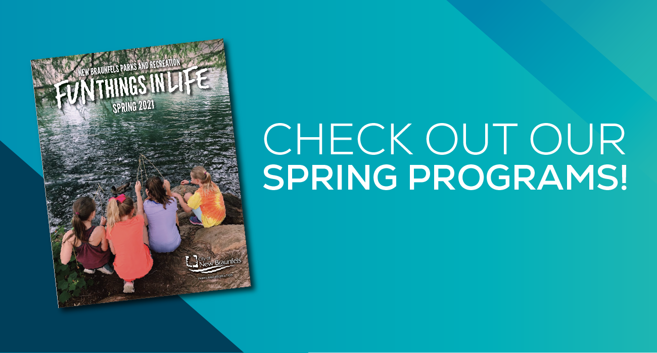 Check out our spring programs