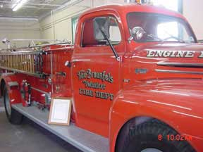 1950 Ford Pumper