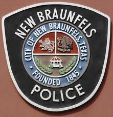 NBPD Patch on Brown Background