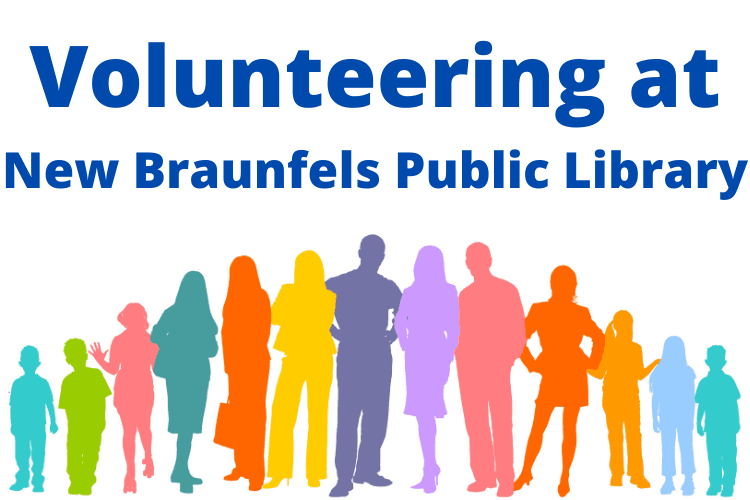 Volunteering at New Braunfels Public Library