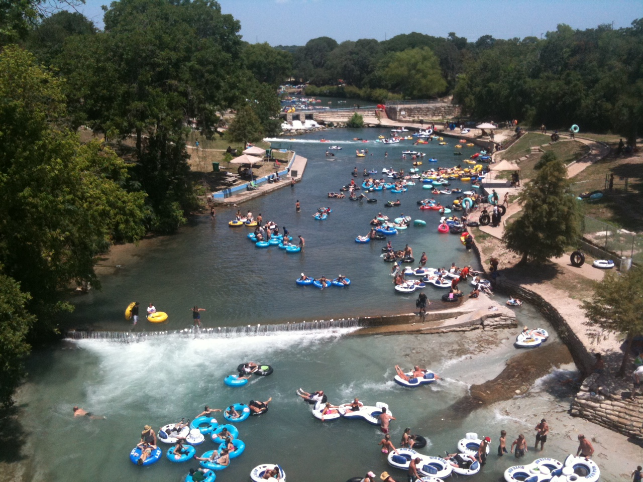 Image result for 7. City Tube Chute, Comal River, New Braunfels, TX