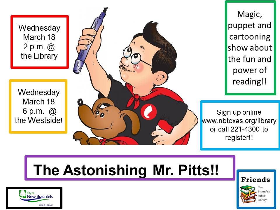 Astonishing Mr. Pitts