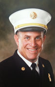 Interim Fire Chief Derek Wrenn